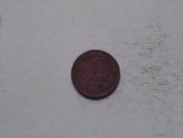 1915 - 1 Cent / KM 152 ( Uncleaned - For Grade, Please See Photo ) ! - [ 3] 1815-…: Königreich Der Niederlande