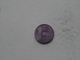1944 - 1 Cent / KM 170 ( Uncleaned - For Grade, Please See Photo ) ! - [ 3] 1815-…: Königreich Der Niederlande