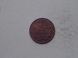 1941 - 2 1/2 Cent / KM 150 ( Uncleaned - For Grade, Please See Photo ) ! - [ 3] 1815-… : Royaume Des Pays-Bas