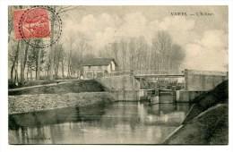 CPA  77  /  VAIRES    écluse Avec Péniche  1906  A  VOIR  !!!!!!! - Vaires Sur Marne