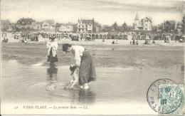 62 - PARIS PLAGE - Pas De Calais - Le Premier Bain - Le Touquet