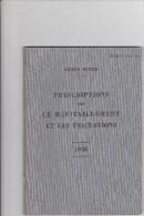 Armée Suisse - Prescriptions Ravitaillement 1938 - Livres