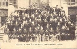62 - HÉNIN-LIÉTARD - Pas De Calais - Fanfare LA PROLÉTARIENNE - Le Touquet