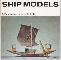 Ship Models 1966 - Bâteaux