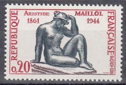 FRANCE  - 1960 - Yvert  1281  ** - Aristide Maillol - France
