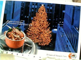 Cartolina Ricette Di Cucina-perscampi E Lenticchie Al Prosciutto Crudo A New York FERRARINI  N 1995 EP11400 - Ricette Di Cucina