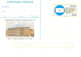 ITALIA  -   MNH/*** -  CARTE POSTALE  ENTIER POSTAL STATIONARY IMOLA 89  - Lot 10906 - 1946-.. République