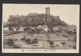 DF / 43 HAUTE LOIRE / POLIGNAC / VUE GENERALE DU VILLAGE ET DU CHÂTEAU - Otros Municipios