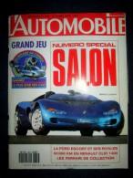 AUTOMOBILE Magazine #532 Oct1990 Auto Car Sp. SALON Essais RENAULT Clio & 19 GTX FORD Escort VOLKSWAGEN Golf FIAT Tipo ! - Auto/Motor