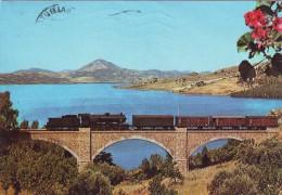 Regalbuto Panorama Con Treno Sul Ponte - Enna - Enna