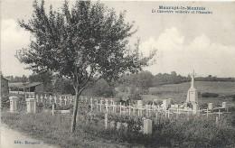 Marne : Maurupt Le Montois, Le Cimetière Militaire Et L'Ossuaire - France