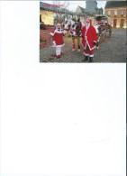 Ambrumesnil   Carte Decembre 2014   Le Père Noel En Calèche Sur La Place - Autres Communes