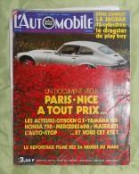 L´Automobile Sport Mécanique. N° 302. Juillet 1971. Jaguar 12 Cylindres. Citroën GS. Yamaha 125. Honda 750. Mercedes 600 - Sport