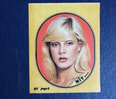 Autocollant Années 70 Sylvie VARTAN Hit Magazine - Autocollants