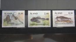 Aland 1997  MNH ** Mi. 124-126 - Aland