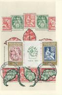 FRANCE Carte Maximum Yvert N° 1415/16 PHILATEC Paris 1964 Obl 1er J  9-5-64 - 1960-69
