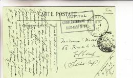 Hopital Complementaire 47-saint Briac(ille & Vilaine) - WW I