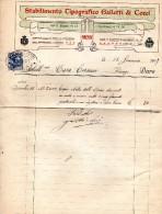 1817 FIRENZE - TIPOGRAFIA GALLETTI E COCCI - Italia