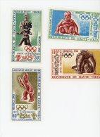 Haute Volta-Obervolta-1968-JO Mexico-YT A54/7***MNH - Sommer 1968: Mexico