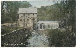 Blow Me Down Mill Cornish Water Mill Moulin From Woodstock Corbeau To Reiss Credit Lyonnais - Etats-Unis