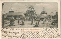 Goudmijn Te Johannesburg Gold Mine Mine Or Edit Nels Transvaal P. Used 1899 - Afrique Du Sud