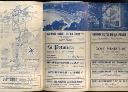 - FRANCE 29 . DEPLIANT TOURISTIQUE PRESQU´ILE DE CROZON  . - Dépliants Turistici