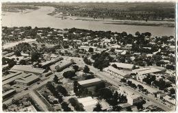 1584 Fort Lamy Un coin de la ville et le Chari edit Billeret 1961 Timbr�e Flamme Faune Grandes Chasses