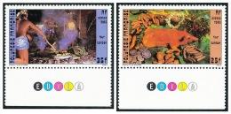 POLYNESIE 1985 - Yv. 241 Et 242 ** TB Bdf Coul  Cote= 2,25 EUR - Four Tahitien (cochon Et Cuisiniers) (2 Val.) ..Réf.POL - Französisch-Polynesien
