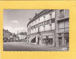 CPSM -   GOURNAY EN BRAY - Hotel De Normandie  21 Place Nationale - Nouvelles Galeries - Gournay-en-Bray