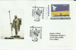 ENTERO POSTAL CON MAT SANTA CRUZ TENERIFE MAT BENEHARO MENCEY DE ANAGA - History