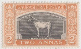 India, Princely State Jaipur, Kathi Horse, Mint LH, Inde Indien - Jaipur
