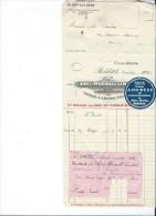 Commande/Fabrique D´Instruments De Musique/Abel Morrall Limited/REDDITCH/ Angleterre/Courbe/La Couture/Eure/1930  PART99 - Musique & Instruments