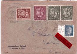 23-11-44 - Enveloppe De SCHIRMECK  Pour Strasbourg - Très Bel Affranchissement - Storia Postale