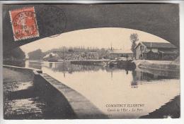 COMMERCY 55 - Canal De L'Est : Le Port - CPA - Meuse - Commercy