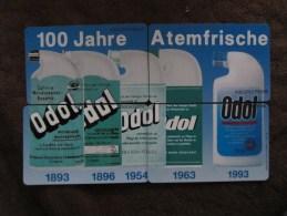 K816,817 01.93, 868 04.93,465 05.93 Odol , Puzzle Set Of 4, Mint - Germany