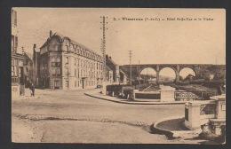 DF / 62 PAS DE CALAIS / WIMEREUX / HÔTEL BELLE-VUE ET LE VIADUC - Autres Communes