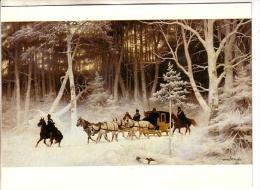 GOOD GERMANY Postcard - Nikutowski - Die Post Im Walde - Post & Briefboten