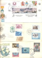 50 CARDS AND ENVELOPES SOBRES Y TARJETAS ARGENTINA ARGENTINE  FDC O SPECIAL COVERS  DIFERENTES - Kilowaar (max. 999 Zegels)