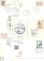 100 DIFFERENT CARDS AND ENVELOPES ARGENTINA ARGENTINA EXCELLENT SHAPE TARJETAS Y SOBRES DIFERENTES FDC OR SPECIAL COVERS - Postzegels