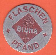 Flaschen Pfand Bluna - Firma's