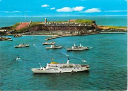 Allemagne(Schleswig-Holstein/ Pinneberg) Nordseebad Insel HELGOLAND (Mer Du Nord île Touristique) Paquebot Bateau Ships - Pinneberg