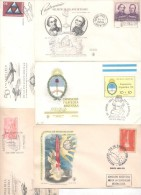 300 DIFFERENT CARDS AND ENVELOPES ARGENTINA ARGENTINA EXCELLENT SHAPE TARJETAS Y SOBRES DIFERENTES FDC OR SPECIAL COVERS - Postzegels