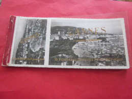 CARNET DE 10 Vues Views Of De CANNES (A.M.06)10 Photos 6X9 Pour Moi &10 Véritables Photos Pour Mes Amis ->semi Moderne - Cannes