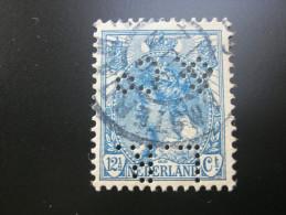 Perfore ,FIRMENLOCHUNG     ,  Perfin ,   2 Scans - 1891-1948 (Wilhelmine)