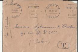 Enveloppe  E M A (Recommandée)  De Exp: Banque N C I  A  Saigon (Cochinchine Adressé A B N C I A Valence 26 - Ohne Zuordnung