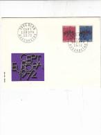 SVIZZERA 1972 - FDC - Yvert 899/900 - Annullo Speciale - Europa-CEPT - Europa-CEPT