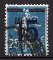 Memel 1921 Mi 47, Gestempelt [261214XI] - Memelgebiet