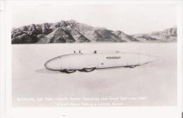 BONNIEVILLE SALT FLATS WORLD'S FASTEST SPEEDWAY NEAR GREAT SALT LAKE UTAH - Salt Lake City