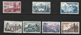 """FR YT 1036 à 1042 """" Série Touristique Complète """" 1955 Oblitéré - Usati"""