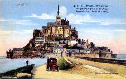 50 LE MONT-SAINT-MICHEL ++ Vue Générale Prise De La Digue ++ - Le Mont Saint Michel